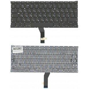 Клавиатура для ноутбука Apple A1369 большой ENTER без подсветки 2010+ (RU) черная
