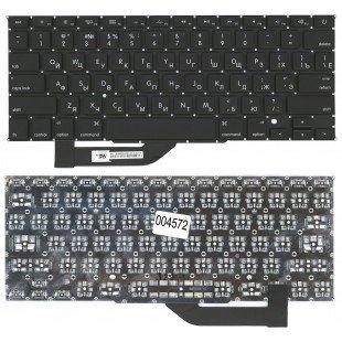 Клавиатура для ноутбука Apple MacBook Pro A1398 плоский Enter (RU) черная