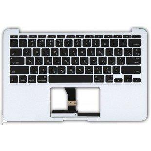 Клавиатура для ноутбука Apple MacBook Air A1466 2012+ топ-панель (RU) черная
