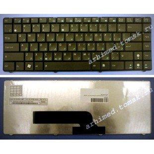 Клавиатура для ноутбука Asus K40, K40IN, X8 (RU) черная [00260]