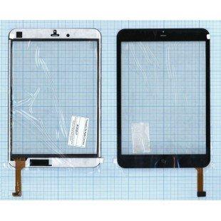 Сенсорное стекло (тачскрин) для планшета Fly Flylife Connect 7.85 3G Slim черный [T00130]