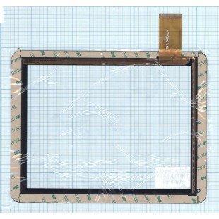 Сенсорное стекло (тачскрин) для планшета DNS AirTab M971w (MT97002-V4D) черное [T00119]