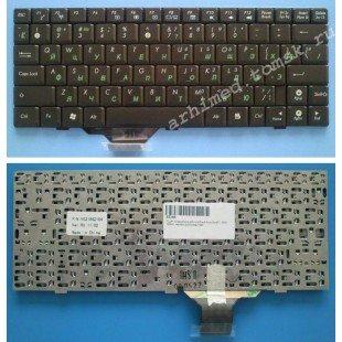 Клавиатура для ноутбука Asus EeePC 1000, 904, U1 (RU) черная, матовая [00376]