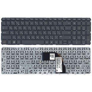 Клавиатура для ноутбука HP Pavilion dv7-7000 (RU) черная, без рамки