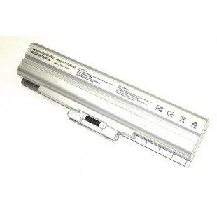 Аккумуляторная батарея VGP-BPS13 для ноутбука Sony Vaio VGN-AW, CS, FW серебристая  (10.8-11.34 В 7800 мАч)