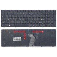 Клавиатура для ноутбука Lenovo G500 G700 (RU) черная с рамкой, Ver.2 [10134]