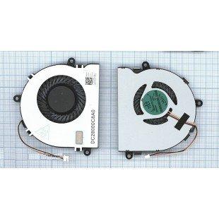 "Вентилятор (кулер) для ноутбука DELL Inspiron 15 3521 i15RV-1667BLK 15.6"""