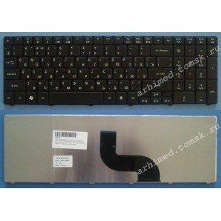 Клавиатура для ноутбука Acer Aspire 5750G, 5742G, 5810, 5236, 5242, 5251, 5336, 5340, 5410, 5536, 5542, 5551, 5560, 5736, 5738, 5820, 7336, 7340, 7540, 7551, 7735, 7741, 8935, Aspire TimeLine 5410T (RU) черная [00069]