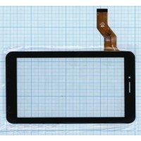 Сенсорное стекло (тачскрин) для Digma 7.3, Irbis TX72, черное [T0109]