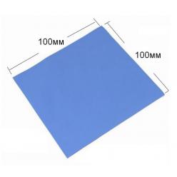 Термопрокладка силикон 100x100x5мм, 1.2-3.2Вт/(м*К) [EE5001B-X]
