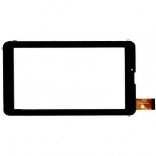 Сенсорное стекло (тачскрин) для планшета Digma HT7070MG, EXPLAY SURFER 7.34 3G, OYSTERS T72 3G черный [T00101]