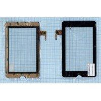 Сенсорное стекло (тачскрин) Texet TM-7047HD черное [T00123]