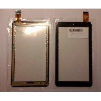 Сенсорное стекло (тачскрин) Texet TM-7056 черное [T00117]