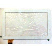*SALE* Сенсорное стекло (тачскрин) Oysters T12V 3g, Digma ids10 (701-10059-02) белое [T00125]