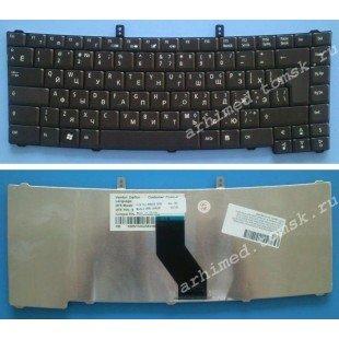 Клавиатура для ноутбука Acer TravelMate 4320, 4330, 4520, 4530, 4720, 4730, 5220, 5300, 5310, 5320, 5520, 5710, 5720, 5730, 7320, 7520, 7720, Extensa 4120, 4630z, 4220, 4620, 5120, 5210 (RU) черная [00219]