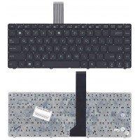 Клавиатура для ноутбука Asus K45, U43F, U44, U46 (RU) черная без рамки [10170]
