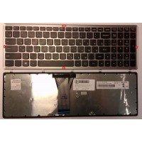 Клавиатура Lenovo B50-30 B50-70 G50-30 G50-70 Z50-70 Z50-75 (RU) с серой рамкой [10167]