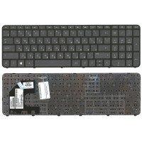 Клавиатура HP Pavilion SleekBook 15-B (RU) черная, с черной рамкой [10165]