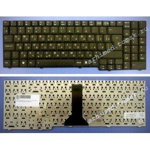 Клавиатура для ноутбука Asus F7E, F7F, M51, M51E, M51SN (RU) черная [00513]