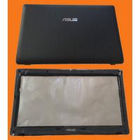 Крышка + рамка матрицы (A+B cover) для ноутбука Asus A52 K52 K52J X52, черная [ACK52+BCK52]
