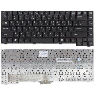Клавиатура для ноутбука Fujitsu-Siemens A1667 A3667 L6825 (RU) черная
