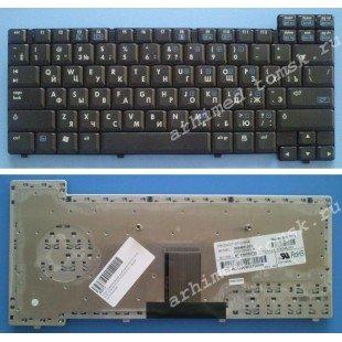 Клавиатура для ноутбука HP NC6000 NC6100 NX6105 NC6110 NX6110 (RU) черная [00064]