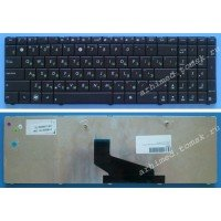 Клавиатура для ноутбука Asus K53, X53, X54, X73 (RU) черная [00731]