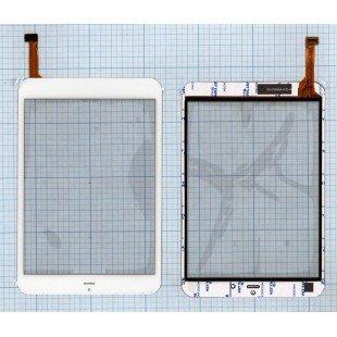 Сенсорное стекло (тачскрин) для планшета Fly Flylife Connect 7.85 3G Slim белый [T00132]
