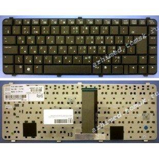 Клавиатура для ноутбука HP 6530, 6531s, 6535, 6730, 6731s, 6735s (RU) черная, матовая [00165]