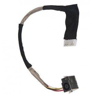 Разъем для ноутбука HP Compaq CQ40 CQ45 DV4 DV6 с кабелем [20112]