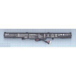 Аккумуляторная батарея A41-X550E для ноутбука Asus X450J, X450JF 14.4V 37Wh черная Original [B0933]