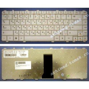 Клавиатура для ноутбука Lenovo IdeaPad Y450, Y450A, Y450G, Y550, Y550A (RU) белая [00127]
