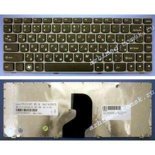 Клавиатура для ноутбука Lenovo IdeaPad Z360, Z450, Z460 (RU) черная [00606]