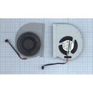 Вентилятор (кулер) для ноутбука Dell Latitude E6430 (Дискретная видеокарта)