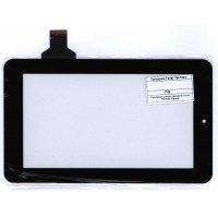 Сенсорное стекло (тачскрин) Texet TM-7024; Onda V701s, V702, V711; Explay Surfer 7.02 черное [T00138]