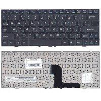 Клавиатура для ноутбука DNS 0127618, 0129680, 0138569, 0155288 (RU) черная