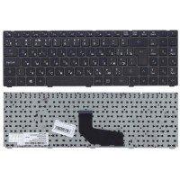 Клавиатура для ноутбука DNS K580S черная (RU) с рамкой [10195]