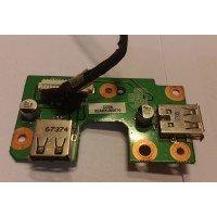 *Б/У* USB плата для ноутбука Benq A52 (32AK2UB0010) [BUR0020-9], с разбора