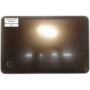 *Б/У* Крышка матрицы (A cover)  для ноутбука HP DV6-3000  (TSA3JLX8TP303BqN492) [BUR0028-5]