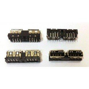 Разъем USB 2.0 для ноутбука Asus K40AF K40IN K40AB K40AD K40C X8A X8AAF [U077]