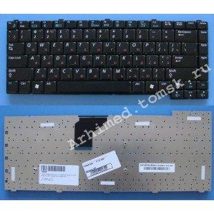 Клавиатура для ноутбука Samsung X20, X25, X30, X40, X50 (RU) черная [10025]