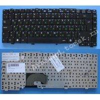 *SALE* Клавиатура для ноутбука Asus L4, L4R (RU) черная, матовая [10018]