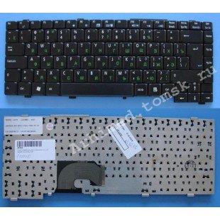 Клавиатура для ноутбука Asus L4, L4R (RU) черная, матовая [10018]