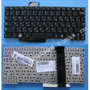 *SALE* Клавиатура для ноутбука Samsung X128 (без рамки) (RU) черная [10024]