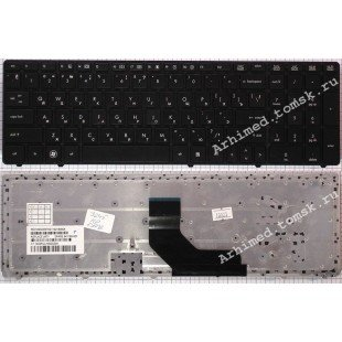 Клавиатура HP Elitebook 6560B, 8560P (RU) черная