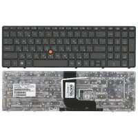 Клавиатура HP EliteBook 8560W (RU) серая