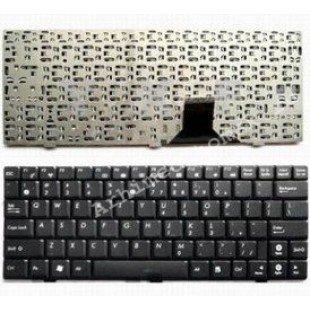 Клавиатура для ноутбука Asus EeePC 1004DN, 1001HE, 1002H (RU) черная, матовая