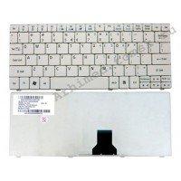 Клавиатура для ноутбука Acer Aspire 1810 1825 1830; Acer Aspire One 721 722 751 752 753 ZA3 ZA5 AO751 (RU) белая [10164]