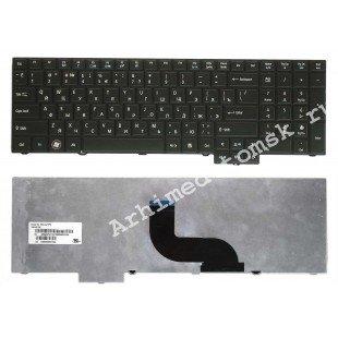Клавиатура для ноутбука Acer Travelmate 5760, 5760G, 5760Z, 5760ZG, 8573 (RU) черная, матовая