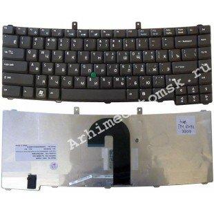 Клавиатура для ноутбука Acer TravelMate 6492 (RU) черная, матовая